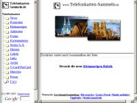 Telefonkarten-Sammeln.de