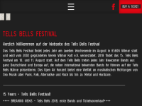Tells Bells Festival Villmar
