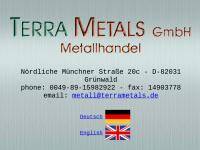 Terra Metals GmbH Metallhandel