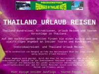 Thailand Urlaub Reisen