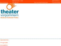 Greifswald, Theater Vorpommern