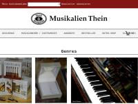 Musikalien Maria Thein