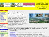 Wandern im Norden Thüringens