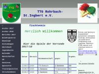 TTG Tischtennisgemeinschaft Rohrbach St. Ingbert e.V.