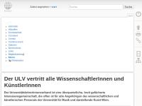 Universitätslehrerverband Musikuniversität Wien (ULV-MDW)