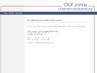 Unternehmensberatung Olaf Jonas