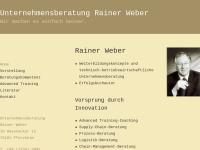 Unternehmensberatung Rainer Weber