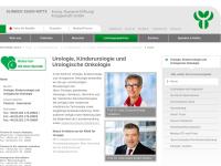 Klinik für Urologie, Kinderurologie und urologische Onkologie   Prof. Dr. D. Kröpfl