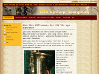 USA-Vintage-Saxophon, Axel Henning