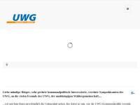 UWG - Unabhängige Wählergemeinschaft Siegen e.V.