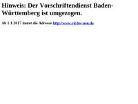 Vorschriftendienst Baden-Württemberg