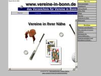 Verzeichnis der Bonner Vereine