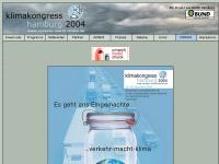 Klimakongress Hamburg 2004