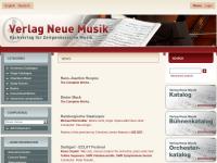Verlag Neue Musik und Edition Margaux