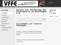 Verein zur Förderung des Fechtsports in Esslingen e.V.
