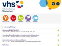 Volkshochschule Mittelsachsen