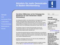 Mehr Demokratie in Baden-Württemberg
