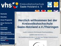 Kreisvolkshochschule Saale-Holzland e. V.