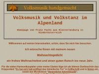 Volksmusik und Volkstanz im Alpenland