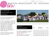 Deutsche Gesellschaft für Volkstanz e.V. (DGV)