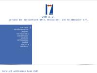VSR, Verband der Serviermeister, Restaurant- und Hotelfachkräfte e.V.