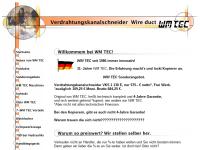 WM Tec Werkzeuge und Maschinen für die Elektroindustrie, Inh. S. Müller