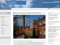 Uni Hannover - Weiterbildungsstudium Arbeitswissenschaft [WA]