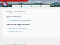 Wahlen in Thüringen