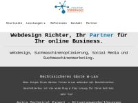 Frank Richter, Webdesign