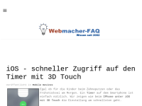 Webmacher-FAQ.de