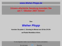 Weher Plopp - Bürgerfunk bei Radio Westfalica