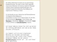 Stiftung Wehrenbach