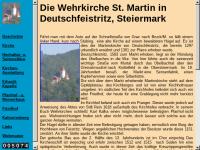 Deutschfeistritz, Wehrkirche St.Martin