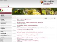 Weinbauinformationen Rheinland-Pfalz