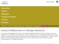 Altenkirch, Weingut Friedrich