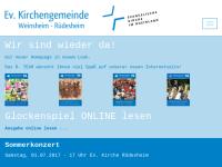 Evangelische Kirchengemeinde Weinsheim-Rüdesheim