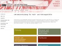 LMU Weiterbildung für Fach- und Führungskräfte - Ludwig-Maximilians-Universität München