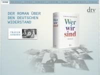 Wer wir sind - der Roman über den Deutschen Widerstand