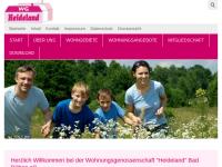 """Wohnungsgenossenschaft """"Heideland"""" Bad Düben eG"""