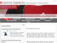 Whiteribbon Österreich - Männer gegen Gewalt an Frauen