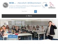 Wib e.V. - Weiterqualifizierung im Bildungsbereich
