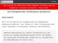 Predigten der Evangelischen Kirchengemeinde Windesheim-Guldenthal