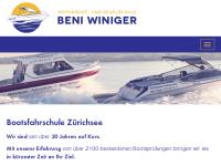 Motorbootfahrschule Beni Winiger