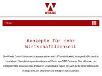 Wrede GmbH Softwarekonzepte