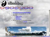 Klettergruppe im TVK fun Kornwestheim