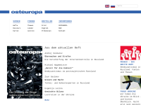 Zeitschrift Osteuropa