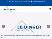 Leibinger Zelte & Events