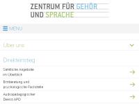 Zentrum für gehörlose und schwerhörige Kinder Zürich