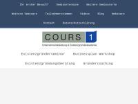 COURS 1 Unternehmer- und Existenzgründerakademie Köln