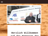Zimmermeister Andreas Pagenkemper
